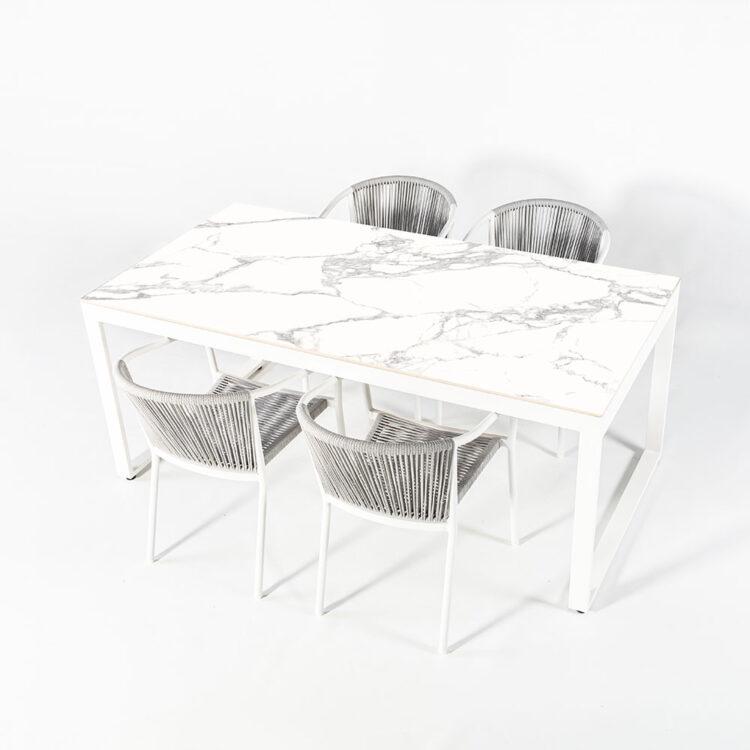 conjunto mesa Tokio y silla Elba